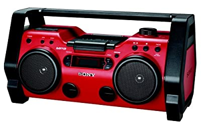 Sony Portable Heavy Duty CD Radio Boombox Speaker System
