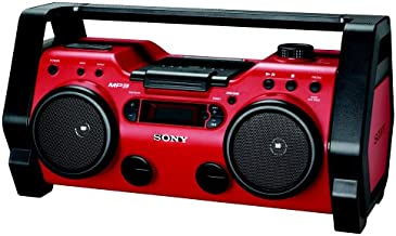 Sony ZSH10CP Portable Heavy Duty CD Radio Boombox Speaker System (Discontinued by Manufacturer)