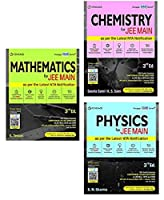 Jee Main For ( Maths + Physics + Chemistry ) Combo 3rd Edition Bundle Product Cengage Learning