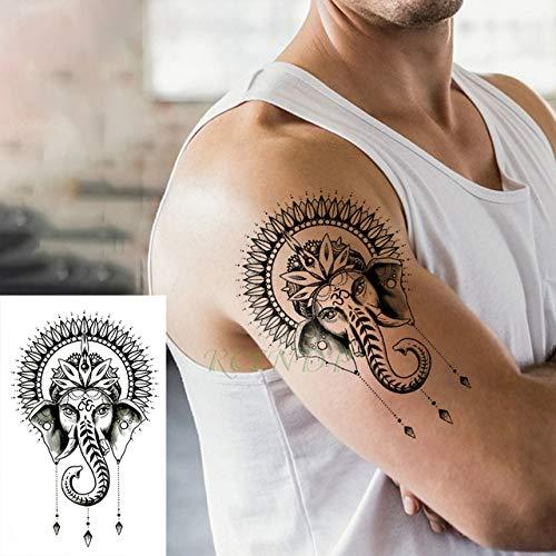 ljmljm 3 PC Impermeable Etiqueta engomada del Tatuaje Lindo del ...