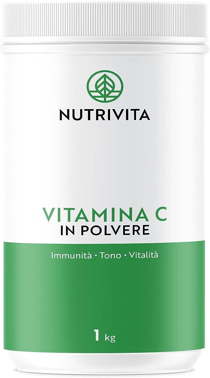 873 opinioni per Vitamina C Polvere 1 kg | 100% Acido Ascorbico Puro 1000mg | Polvere Ultra Fine