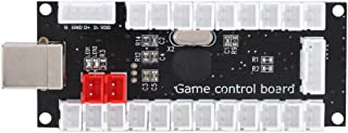 Hakeeta Placa de Circuito, Consola de Juegos Chip USB Placa de Circuito Kit único Junta de núcleo USB Arcade Kit para Arcade, Juego de Lucha, Juego de USB de King of Fighters para el hogar(Negro)