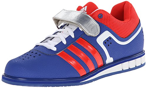 adidas Performance Men's Powerlift.2 Trainer Shoe,White/Black/Bright Royal,7.5 M US