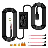 Vantrue N2 Pro, N2, T2, N1 Pro, X4, X3 Dash Cam 10ft Mini USB 12V 24V to 5V Dash Cam Hardwire Kit with Mini, ACS, ATO, Micro2 Add a Circuit Fuse Holders, Low Voltage Protection for Mini USB Dash Cams auto dash cams May, 2021