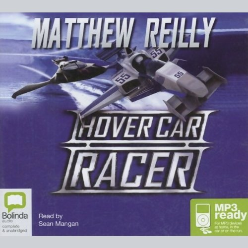 Hover Car Racer audiobook cover art