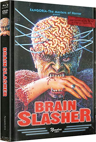 Brain Slasher - wattiertes Mediabook - Cover D Original - Limited Uncut Edition auf 555 Stück [Blu-ray + DVD]