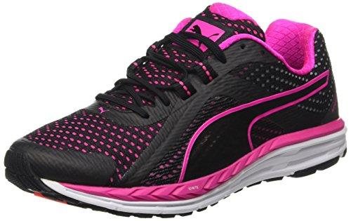 Puma Speed500Ignitewf6, Zapatillas de Atletismo para Mujer Negro (Negro/Rosa 03) 5.5 UK 38.5 EU