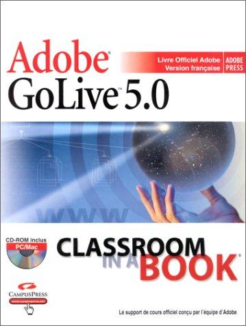 Adobe GoLive 5.0 (avec CD-Rom)