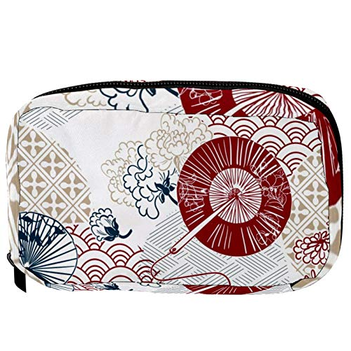 LORVIES - Bolas de bolillos para cosméticos, bolsa de maquillaje, bolsa de viaje, organizador de baño para mujer
