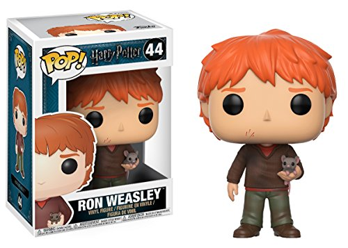 Funko 14938 Figurine Pop! Vinyle - Harry Potter - Ron Weasley with ScaBBers