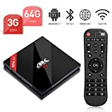 H96 Pro Plus Android 7.1 TV Box 【3GB 64GB】 avec S912 4K HD Soutien 3D HDMI2.0/H.265 VP9 Décodage Vidéo/BT4.1/2.4G 5G Wifi/100M LAN