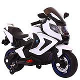 Elektrisches Motorrad Für Kinder,Elektromotorrad,Original Elektrisches Kindermotorrad Verwendbar Für Jungen- Und Mädchensportbalancenbeherrschung,Weiß
