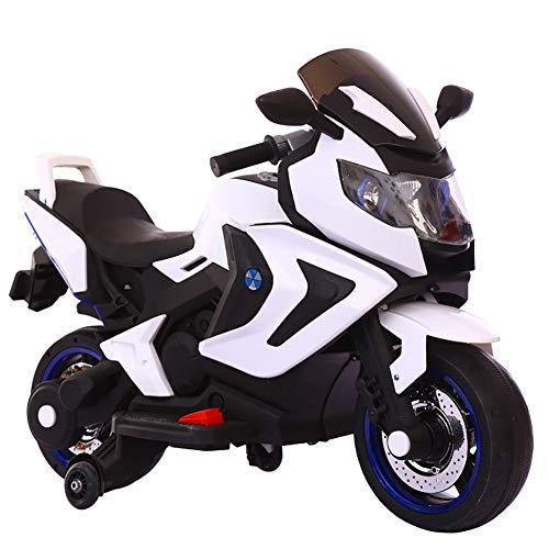 Elektrisches Motorrad Für Kinder,Elektromotorrad,Original Elektrisches Kindermotorrad Verwendbar Für Jungen- Und Mädchensportbalancenbeherrschung,Weiß*