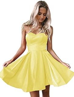 Jonlyc Sweetheart Neckline Short Prom Dresses with Corset Back Homecoming Graduation Dresses