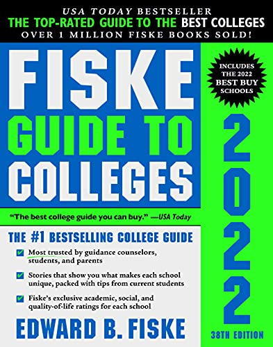 Fiske Guide to Colleges 2022: (The #1 Bestselling College Guide)