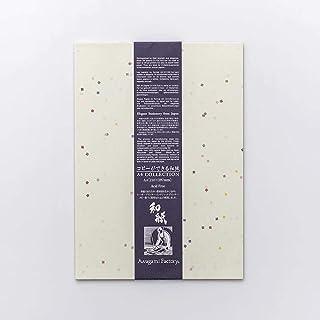 アワガミファクトリー コピーができる和紙 (No.36 切り紙入り/七夕(小), A4×20枚)