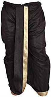 Indian Cultural Simple & sober black Stitched Dhoti