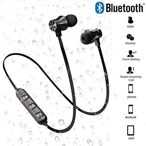 Bluetooth V4.2 Draadloze Stereo Oortelefoon Sport Headset Voor iPhone X XS 7 8 Samsung S8 S9 S10 Xiaomi 9 Waterdichte Oordopjes Met Microfoon