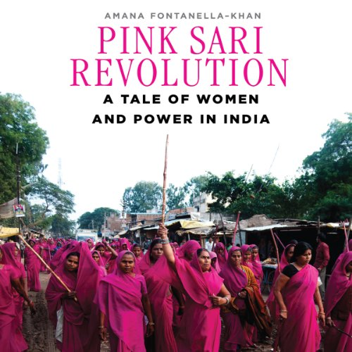 Pink Sari Revolution audiobook cover art