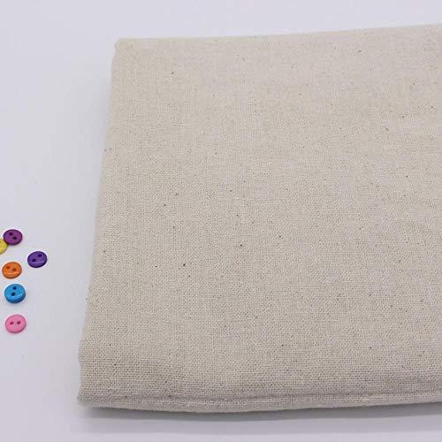 Katoen patch vintage schilderen van vlas hennep doek voor het naaien stof DIY Organic Textile