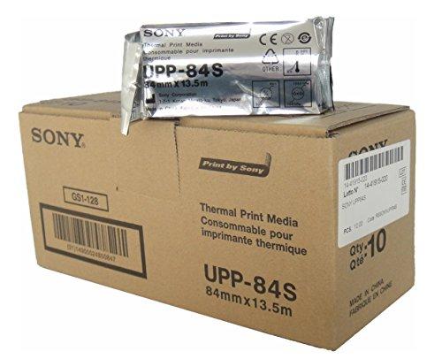 SONY UPP84S Thermopapierrollen für medizinische Schwarzweißdrucker - A7 (84mm x 13,5m)