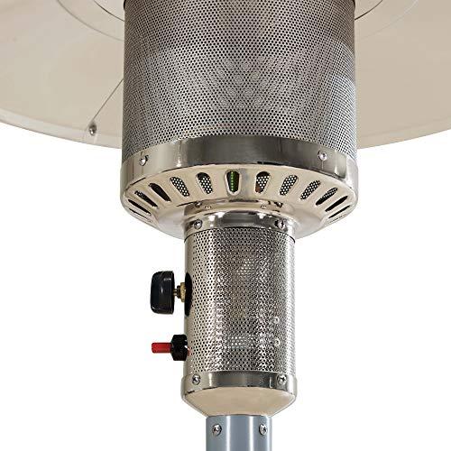 Sunjoy Avanti Heater, 47, 000 BTU, Silver