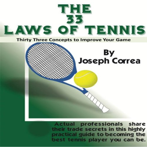 The 33 Laws of Tennis audiobook cover art