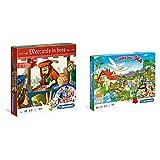 Clementoni- Mercante In Fiera Giochi Da Tavolo, Multicolore, 16068 & Clementoni - Dell'Oca Gioco Da Tavolo Colore Multicolore, 12927