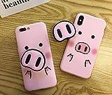 2019 Phone case for iPhone X XS Max XR 6 6s 7 8 Plus 5 5s - Cute Cartoon Pig Phone Case Funny Nose TPU Soft (iPhone X XS)