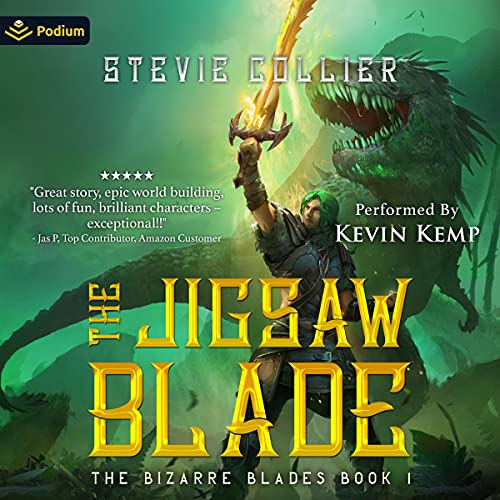 The Jigsaw Blade Audiobook By Stevie Collier cover art