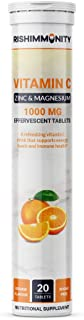 Rishimmunity Vitamin C Effervescent Tablets With Zinc And Magnesium By Rishimmunity | Contains Vitamin C, Zinc And Magnesium