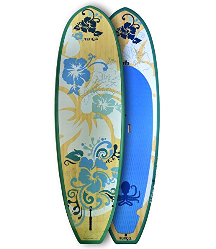 RUNGA PUAAWAI Bamboo 9.0 Stand-UP Paddle Board SUP HARDBOARD Hard Board