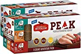 Rachael Ray Nutrish PEAK Natural Wet Dog Food, Adventure Pack Variety,...