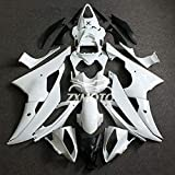 ZXMOTO Unpainted Fairing Kit for 2008 2009 2010 2011 2012 2013 2014 2015 2016 Yamaha YZF R6