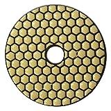 Cuscinetto abrasivo diamantato professionale smerigliatura a secco di EDW I Ø 100 mm I Gr...