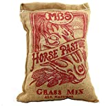 Horse Pasture Grass Seed Mix in Vintage Burlap 10 lb Bag Plants 1 Acre - Non-GMO All Natural Seed