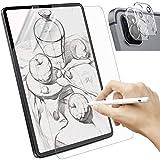 Sross 2 Stück Schutzfolie Kompatibel mit iPad Pro 11 2021/2020, Feel Like Paper Bildschirm Matte Bildschirmschutzfolie, Write Like Paper Folie für iPad Pro 11 mit Kamera Schutzfolien[Unterstützt Pencil]