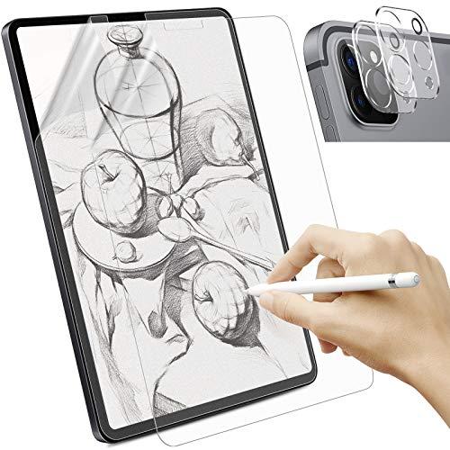 Sross 2 Stück Schutzfolie Kompatibel mit iPad Pro 11 2021/2020, Feel Like Paper Display Matte Displayschutzfolie, Write Like Paper Folie für iPad Pro 11 mit Kamera Schutzfolien[Unterstützt Pencil]