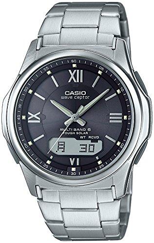 [カシオ] 腕時計 ウェーブセプター 電波ソーラー WVA-M630D-1A4JF シルバー