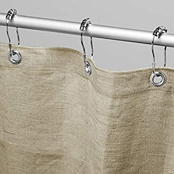 Bean Products Hemp Shower Curtain Size  70  x 74