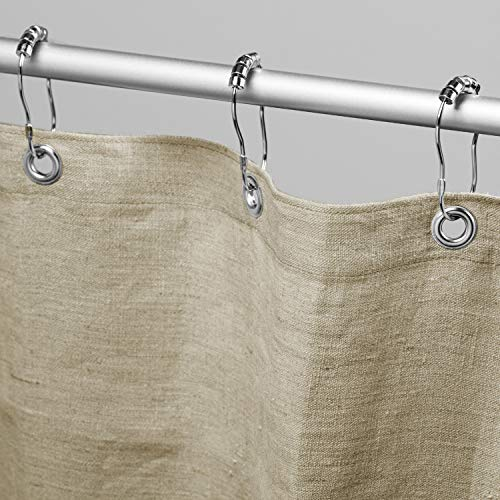 Bean Products Hemp Shower Curtain Size: 70' x 74'