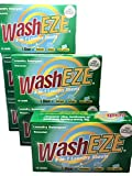 Washeze Detergent Sheets (60 loads of laundry) Unscented Convenient For Traveling Best Value Liquidless