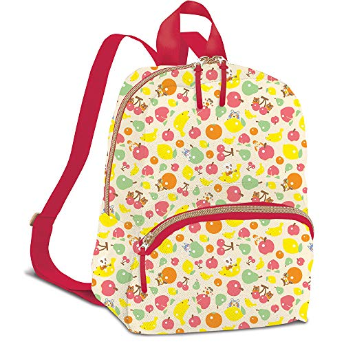 Controller Gear Animal Crossing - Fruit Pattern - Small Backpack for Women, Girl's Cute Mini Bookbag Purse, Travel Bag for Nintendo Switch Console & Accessories - Nintendo Switch