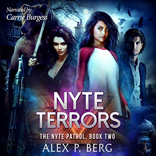 Nyte Terrors audiobook cover art