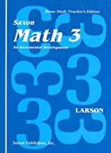 Math 3 Home Study
