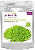Ambivitalis - Matcha Té verde orgánico equilibrado en polvo, 100 gr. en una bolsa con cierre...