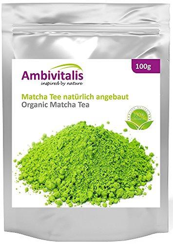 Ambivitalis - Matcha Té verde orgánico...