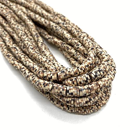 Fabricación de joyas 16 pulgadas alrededor de 450-500 unids 6 mm Polímero plano redondo Clay Beads CHIP DISCO SPACER suelto Cuentas hechas a mano para joyería de bricolaje Pulsera para pulseras de bri