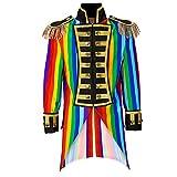 Widmann 59334 Herren Frack Rainbow Parade kostüm, XL