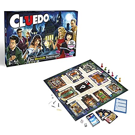 Hasbro Spiele - Cluedo Familienspiel